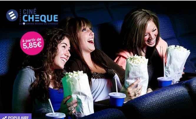Place de cinéma Cinécheque  à 5.90€