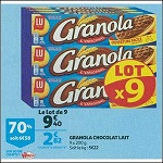 Bon Plan Biscuits Granola chez Auchan Supermarché (24/10 - 30/10) - antic-crise.fr