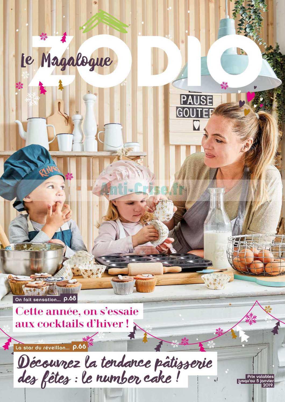 Catalogue Zodio Du 23 Octobre 2018 Au 05 Janvier 2019 Catalogues Promos Bons Plans Economisez Anti Crise Fr
