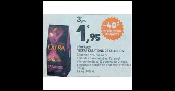 Bon Plan Céréales Kellogg's Extra Créations chez Leclerc (23/10 - 26/10) - anti-crise.fr