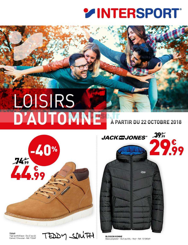 Catalogue Intersport Du 12 Aout Au 07 Septembre 2019 Catalogues Promos Bons Plans Economisez Anti Crise Fr