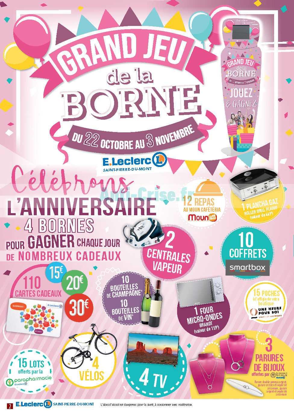 Catalogue Leclerc Local Du 22 Octobre Au 03 Novembre 2018