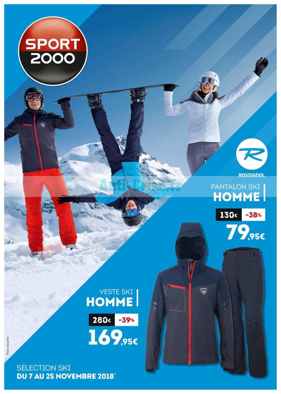 grand choix de f9199 bbe91 Catalogue Sport 2000 du 07 au 25 novembre 2018 - Catalogues ...