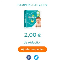 Bon plan couches pampers baby dry chez carrefour 12 02 - Bon de reduction couches pampers ...