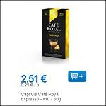 Bon Plan Capsules de Café Royal Compatible Nespresso partout - anti-crise.fr