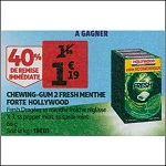 Bon Plan Chewing-Gum Hollywood 2 Fresh chez Auchan (21/11 - 27/11) - anti-crise.fr