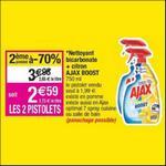 Bon Plan Nettoyant Ajax Boost chez Cora - anti-crise.fr