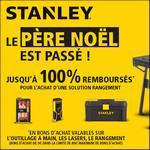 Offre de Remboursement Stanley : Jusqu'à 100% Remboursé sur le Rangement - anti-crise.fr