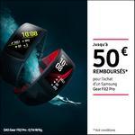 Offre de Remboursement Samsung : Jusqu'à 50€ Remboursés sur Gear Fit2 Pro - anti-crise.fr