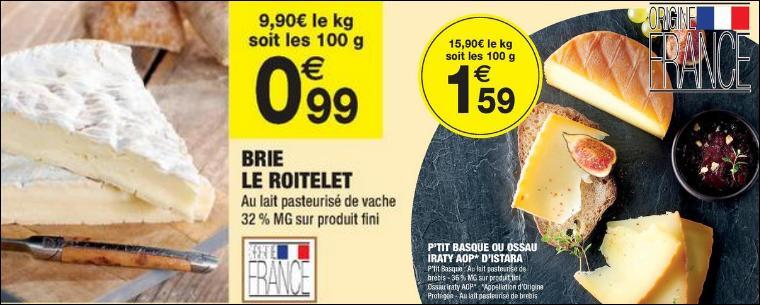 Bon Plan 3 Fromages chez Carrefour Market - anti-crise.fr