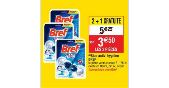 Bon Plan Bloc Bref WC chez Cora - anti-crise.fr