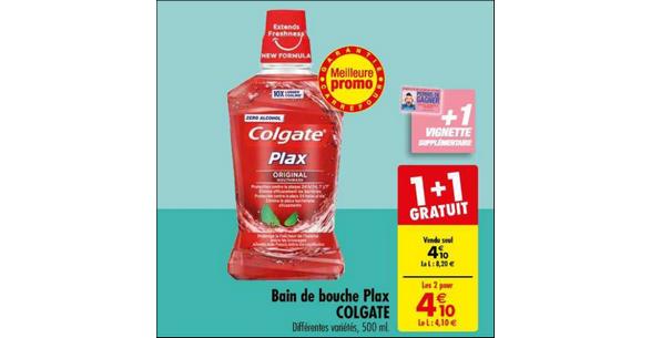 Bon Plan Bains de Bouche Colgate Plax chez Carrefour - anti-crise.fr