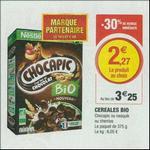 Bon Plan Céréales Bio Nestlé chez Magasins U - anti-crise.fr
