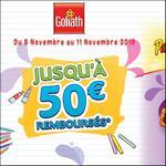 Offre de Remboursement Goliath : Jusqu'à 50€ Remboursés sur Sets Créatifs - anti-crise.fr