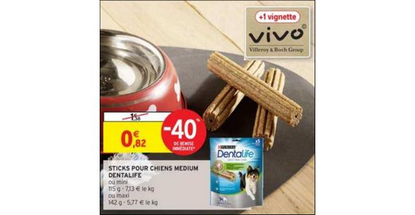 Bon Plan Purina Dentalife chez Intermarché - anti-crise.fr