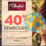 Offre de Remboursement Playtex : 40% Remboursés sur une Parure Dentelle - anti-crise.fr