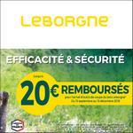 Offre de Remboursement Leborgne : Jusqu'à 20€ sur l'Outillage de Coupe de Bois - anti-crise.fr