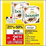 Bon Plan Boursin à Tartiner chez Cora (20/11 - 26/11) - anti-crise.Fr