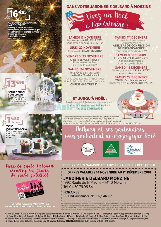 Catalogue Delbard Du 14 Novembre Au 01 Decembre 2018 Catalogues