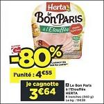 Bon Plan Le Bon Paris à l'Etouffée Herta chez Casino (20/11 - 02/12) - anti-crise.fr