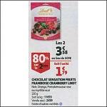 Bon Plan Sensation Fruit Lindt chez Auchan (21/11 - 27/11) - anti-crise.fr