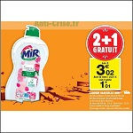 Bon Plan Mir Vaisselle chez Carrefour Market (04/12 - 16/12) - anti-crise.fr