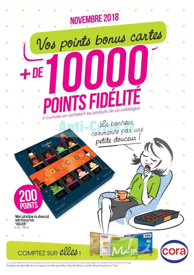 Carte Cora Et Points Fidelite.Catalogue Cora Du 01 Au 30 Novembre 2018 Points Fidelite