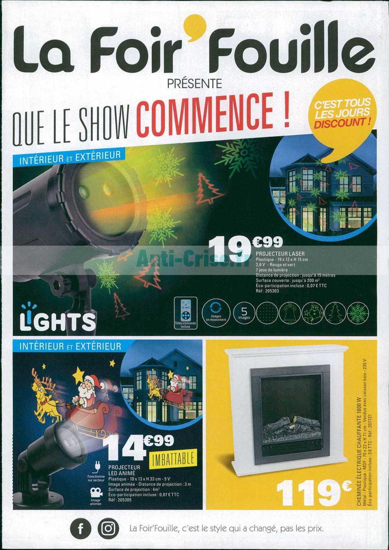 Catalogue La Foir Fouille Du 05 Au 11 Novembre 2018