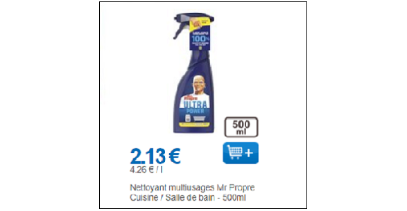 Bon Plan Spray Citron Mr Propre chez Leclerc - anti-crise.fr