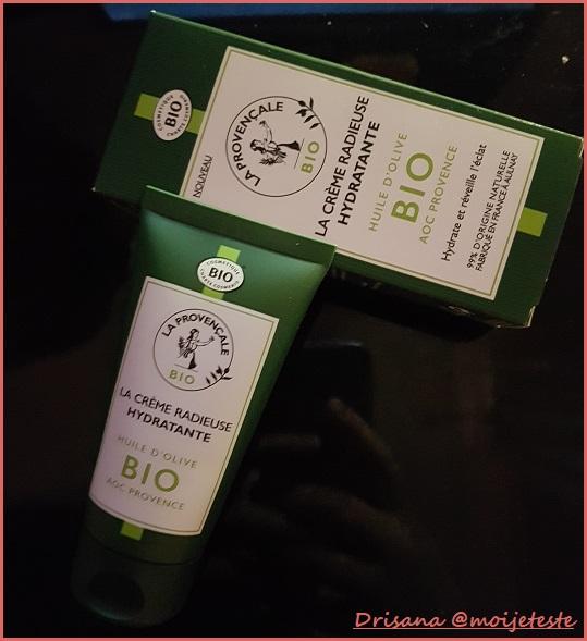 Testé Pour Vous : Crème Radieuse Hydratante La Provençale Bio avec Sampleo - anti-crise.fr