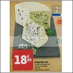 Bon Plan Roquefort Société Cave Baragnaudes chez Auchan (21/11 - 27/11) - anti-crise.fr