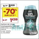 Bon Plan Parfum de Linge Lenor Unstoppables chez Casino (20/11 - 02/12) - anti-crise.fr