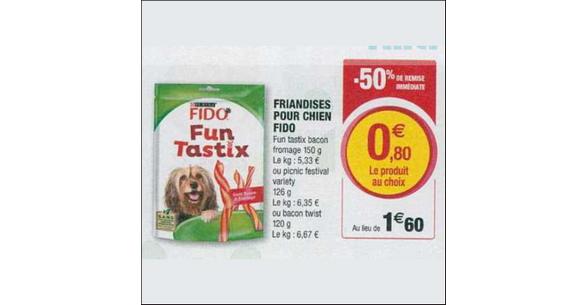 Bon Plan Friandises Fido chez Magasins U - anti-crise.fr