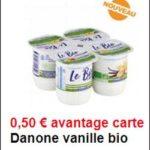 Bon Plan Yaourts à la Vanille Le Bio Danone chez Intermarché - anti-crise.fr