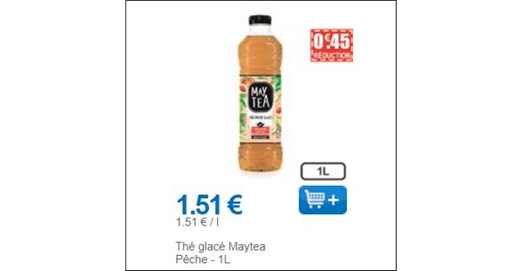 Bon Plan Boisson Maytea chez Leclerc - anti-crise.fr