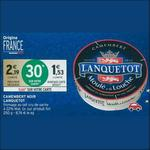 Bon Plan Camembert Lanquetot chez Intermarché - anti-crise.fr