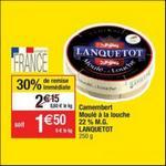 Bon Plan Camembert Lanquetot chez Cora - anti-crise.fr