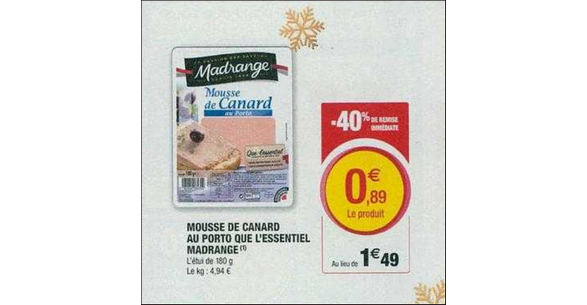 Bon Plan Mousse Madrange chez Hyper U - anti-crise.fr