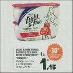 Bon Plan Yaourts Light & Free de Danone chez Leclerc Sud-Ouest - anti-crise.fr