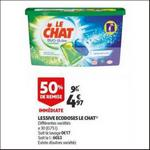 Bon Plan Lessive Le Chat Capsules chez Auchan - anti-crise.fr