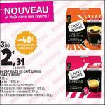 Bon Plan Capsules de Café Espresso Carte Noire chez Leclerc Normandie - anti-crise.fr