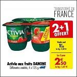 Bon Plan Yaourts Activia de Danone chez Carrefour (02/01 - 07/01) - anti-crise.Fr