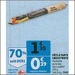 Bon Plan Pâte à Tarte Croustipate chez Auchan (26/12 - 31/12) - anti-crise.Fr