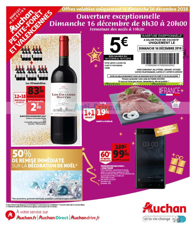 Catalogue Auchan Local Du 16 Décembre 2018 Petite Forêt