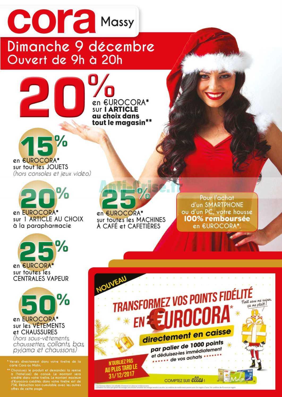 Carte Cora Massy.Catalogue Cora Du 09 Decembre 2018 Massy Catalogues