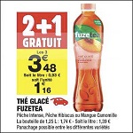 Bon Plan Boisson Fuze Tea chez Carrefour Market (11/12 - 24/12) - anti-crise.fr