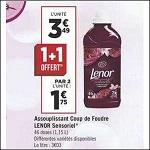 Bon Plan Adoucissant Lenor chez Géant Casino (24/12 - 06/01) - anti-crise.fr