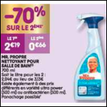 Bon Plan Spray Mr Propre chez Leader Price (04/12 - 09/12) -anti-crise.fr