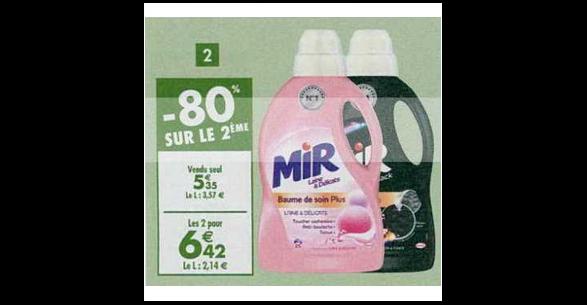 Bon Plan Lessive Mir chez Carrefour (26/12 - 14/01) - anti-crise.fr