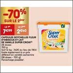 Bon Plan Lessive Super Croix Capsules chez Leader Price (26/12 - 31/12) -anti-crise.fr